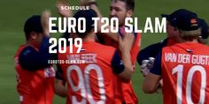 Find out when each team is in action The inaugural running of the Euro Slam 2019 is scheduled for August and September Here's the full Slammed, Schedule, Euro, Running, Sports, Timeline, Hs Sports, Keep Running, Why I Run
