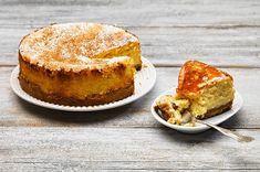 Κεφαλλονίτικο cheesecake της Τασίας από την Αργυρώ Μπαρμπαρίγου! Baked Cheesecake Recipe, Best Cheesecake, Homemade Cheesecake, Food Categories, Greek Recipes, Food To Make, Baking, Breakfast, Sweet