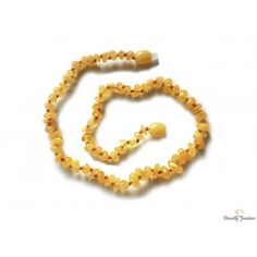 Baltic amber teething necklace - is a good preventive measure suppressing teething pain. Baltic Amber Teething Necklace