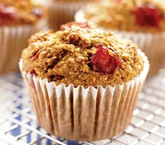 High-fibre cranberry-bran recipe
