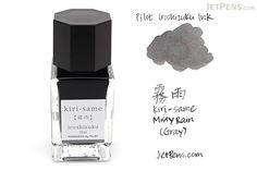 Pilot Iroshizuku Kiri-same Ink (Misty Rain) - 15 ml Bottle - PILOT INK-15-KS