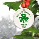 Personalized Irish Ornaments - Claddagh Ornament from IRISHOP.com