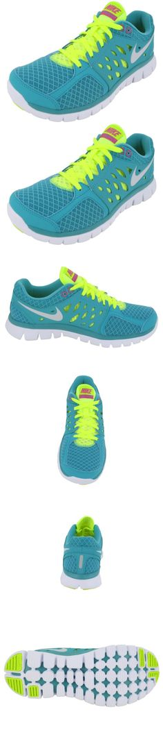 newest feb2d 9c3da Nike Flex 2013 Run Turquoise Volt Ladies Running Shoes - Flexible  lightweight comfort are the