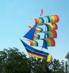 Yet another boat kite