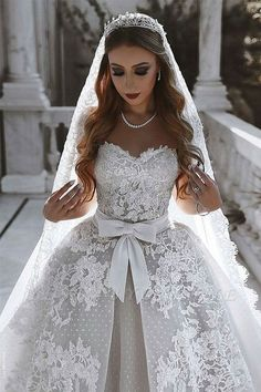Lace Glam Wedding Gown