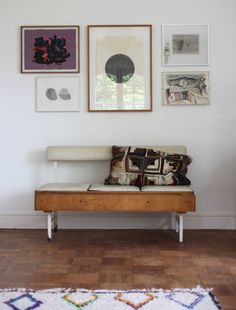 Trending on Remodelista: For the Love of the Old - Gardenista Christmas Presents For Her, Vintage Bench, Contract Furniture, Shelf Design, Interior Design Inspiration, Home Organization, Winchester England, Outdoor Spaces, Home Remodeling