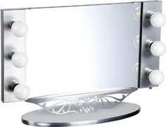 Review starlet lighted vanity mirror pinterest lighted vanity review starlet lighted vanity mirror pinterest lighted vanity mirror makeup geek and vanities aloadofball Image collections
