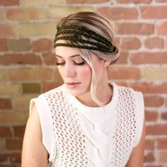 Fall Fashion Trend - Knit Headbands | via @littlejheadbands + littlejheadbands.com