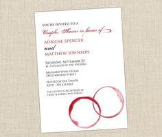 Honeymoon Bridal Shower Invitations