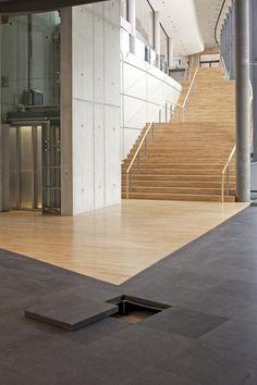 Lindner - Çevre Dostu Yükseltilmiş Döşeme Sistemi