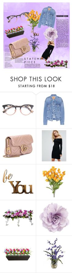 """Untitled #4"" by trava-cxxxv-699 ❤ liked on Polyvore featuring Balenciaga, Gucci, Lipsy, Letter2Word, Improvements and Cara"
