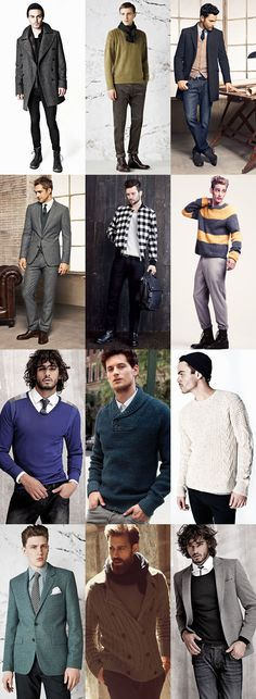 men winter fashion 2013 | Fashion related to Essential Fabrics Winter Men Collection 2013-2014