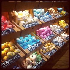 Lush Soaps love this shop!