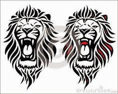 Image result for small lion head sketch
