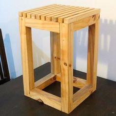 Resultado de imagen para banquitos de madera modernos