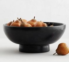 A catchall that creates instant style, the handcrafted Orion Decorative Bowl Collection can be used in an entryway for keys, wallets and other essentials or on a table with succulents or faux fruit you switch out with the seasons. Ceramic Bowls, Stoneware, Ceramic Art, Snack Bowls, Terra Cotta, Recycled Glass, Pottery Barn, Safe Food, Dinnerware