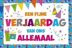 Een fijne verjaardag van ons allemaal !!