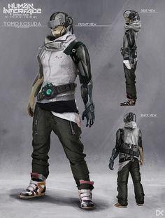 ArtStation - Human Interface - Character concept art ( Tomo Kosuda ), Darius Kalinauskas: