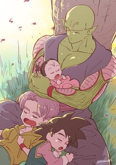 Piccolo ~ Trunks ~ Goten ~ Pan