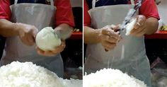 This Guy's Onion Chopping Skills Will Put You To Shame!