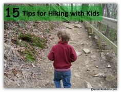 List of things to think about and plan for when hiking with kids. #kids #parenting #hiking #outdoorfun
