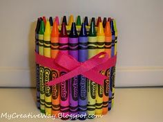 Crayon Pencil Holder