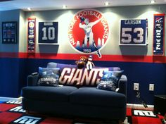 NY Giants Bedroom. See More. Giants Room. I Think Yesss!!! (: