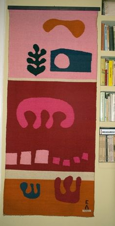 Evelyn Ackerman hand woven tapestry