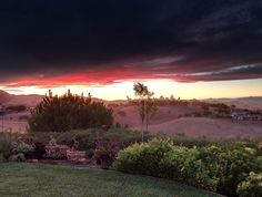 San Benito County sunset.. September