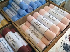 pigment bars from bristol fine art Art Supplies Storage, Wax Art, Bristol, Artist Supplies, Art Journal Techniques, Pen And Watercolor, Dream Art, Stencil Art, Pastel Art