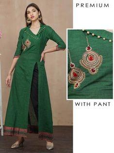 Plain Kurti Designs, Simple Kurta Designs, New Kurti Designs, Kurta Designs Women, Kurti Designs Party Wear, Dress Neck Designs, Stylish Dress Designs, Designs For Dresses, Blouse Designs