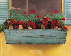 Anne Geddes Baby  Wallpapers (Vol.05)  - Anne Geddes Baby Pictures  - Babies in Flower Pots  9
