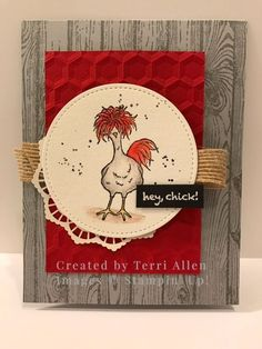 Stampin' Up! Hey chick, SAB 2017 by terrial - Cards and Paper Crafts at Splitcoaststampers