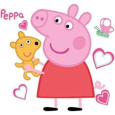 Vinilo infantil Peppa Pig 01 Peppa Pig can be a Indian preschool super-hero Peppa Pig Drawing, Peppa Pig Wallpaper, Peppa Pig Outfit, Papa Pig, Peppa Pig Teddy, Aniversario Peppa Pig, Cumple Peppa Pig, Pig Birthday Cakes, George Pig