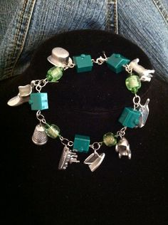 Monopoly Bracelet by BusyBsDesign on Etsy, $15.00