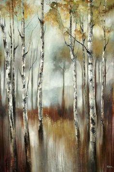 Silent Woods Wall Art - Tree Wall Art - Canvas Wall Art - Gallery-wrapped Canvas Art | HomeDecorators.com