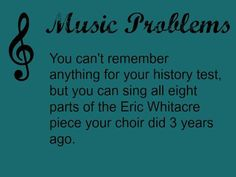 story of a choir nerd's life...
