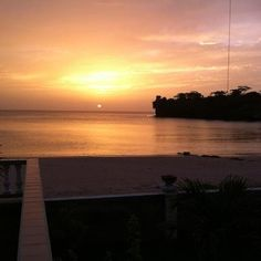This is what you get every night. It's almost boring. Grenada, The Locals, Celestial, Canning, Sunset, Night, Beach, Outdoor, Red