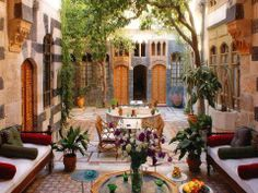 Amazing Courtyard in Damascus