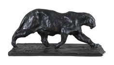 Eichholtz, Bronze Art Deco Jaguar Sculpture, Buy Online at LuxDeco
