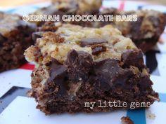 My Little Gems: German Chocolate Cake Bars