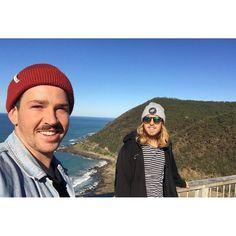 Cheeky selfie at Teddies. || #postsurfbliss #lorne #myhappyplace #orcapparel by olcondon http://ift.tt/1IIGiLS