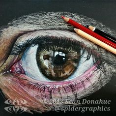 Eye study 7 by Sean Donahue on ARTwanted