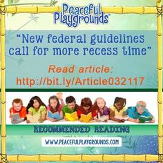 """""""Kids need to be up and out of their seats,"""" Metro State Univ K-12 Phy Ed prof Dr. Nhu Nguyen said. """"They need to be physically as well as mentally active... Read the article here: http://www.9news.com/news/education/new-federal-guidelines-call-for-more-recess-time-/424359375 #pematters #recessmatters"""