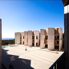 Salk. Kahn. Barragan. #sandiego #lajolla #architecture #modernism #brutalism by modarchitecture