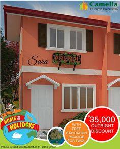 Camella Palawan added a new photo — at Camella Palawan. Puerto Princesa, Lots For Sale, Palawan, Staycation, Garage Doors, City, Outdoor Decor, House, Home Decor