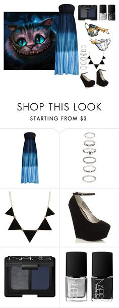 """""""Tim Burton Chesh // Set #30"""" by sammisolace ❤ liked on Polyvore featuring Burton, Monsoon, Forever 21, CO and NARS Cosmetics"""