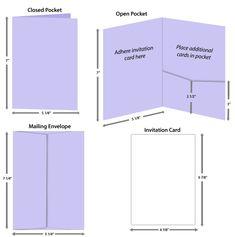 5x7 posh pocket