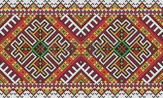 Find Ukrainian Ethnic Seamless Ornament Vector Illustration stock images in HD and millions of other royalty-free stock photos, illustrations and vectors in the Shutterstock collection. Modern Cross Stitch, Cross Stitch Designs, Cross Stitch Patterns, Ethnic Patterns, Bead Loom Patterns, Knitting Patterns, Diy Embroidery, Embroidery Patterns, Palestinian Embroidery