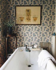 Photo This Ivy House Bathroom Bathroom Bathroom Interior Bad Inspiration, Bathroom Inspiration, Interior Inspiration, Interiores Shabby Chic, Ivy House, Beautiful Bathrooms, Bathroom Interior, Bathroom Trends, Interior Livingroom